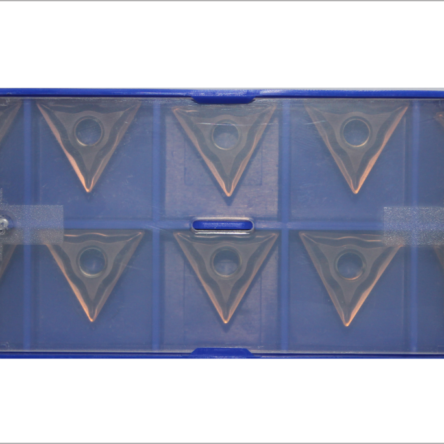 Inserto Torneamento – 10 peças – TNMG160404-EF YBG205